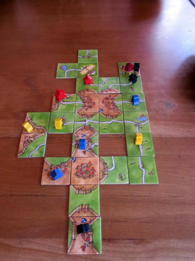 Carcassonne Erweiterung 10 Spiel Deutsch 2017 Manege frei!