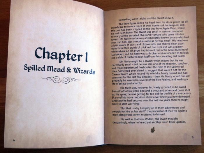 The Secret Of The Five Realms Buch Fazit Heimspieleinfo